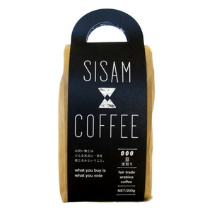SISAM COFFEE 深煎り 200g