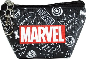 Marvel Triangle Mini Pouch Graffiti Black