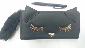 Cat Attached Long Wallet
