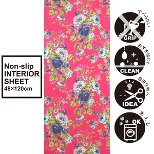 Interior Sheet Kitchen Mat Table Runner Nonslip Water Repellent Processing Rose