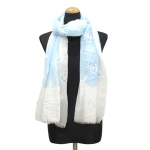 2018 S/S Stole Polyester Material Large Format S/S Stole rose Blue