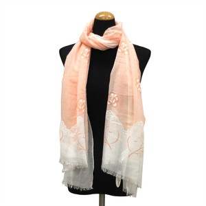 2018 S/S Stole Polyester Material Large Format S/S Stole rose Pink