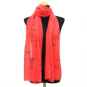 2018 S/S Stole Polyester Material Large Format S/S Stole Flamingo Pink