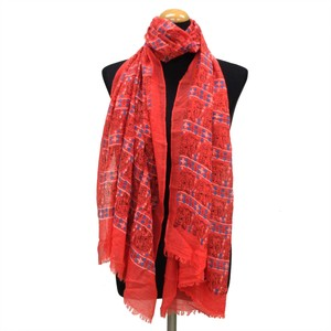2018 S/S Stole Polyester Material Large Format S/S Stole Elephant Red