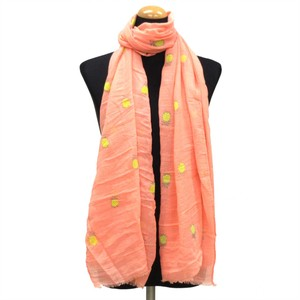 2018 S/S Stole Polyester Material Large Format S/S Stole Pine Pink