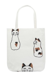Hand Towel Tote Mike Cat Cat Hand Towel Tote Bag Hand Maid