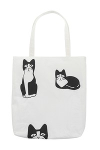 Hand Towel Tote Jiro Hachiware Cat Hand Towel Tote Bag Hand Maid