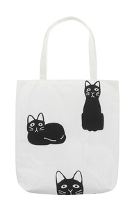 Hand Towel Tote Black cat Cat Hand Towel Tote Bag Hand Maid