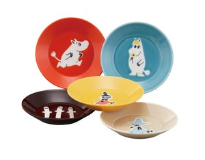 The Moomins 3.5 Plate Five Set Character