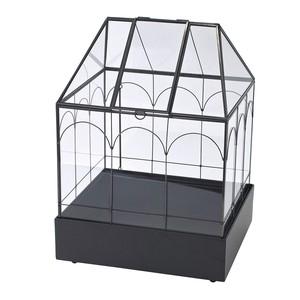 ガラステラリウム メタルベース付きハウス