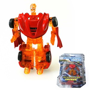 Model Car Educational Toy Super Metal Deformation Red