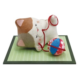 Chigiri Japanese Paper Cat Ornament