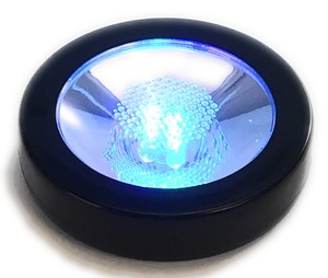 Rainbow Coaster LED Display Light Black