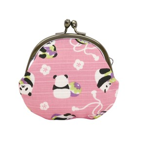 Weather Coin Purse Temari Panda Bear