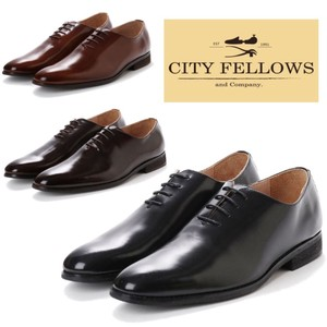 Tea Rose Hall Cut Ford Leather Business Shoes