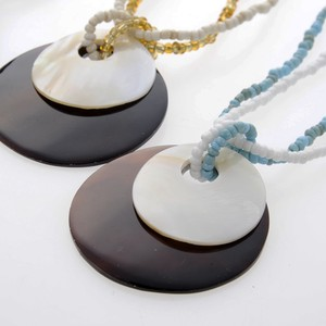 Shell Necklace Double Round Bali