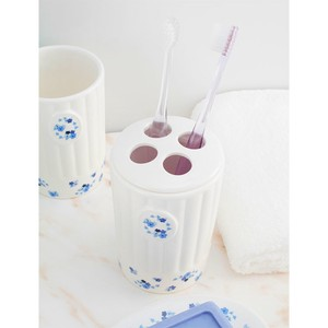 Toothbrush Stand Porcelain Food Container Toothbrush Marine