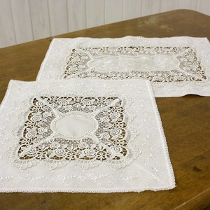 Water-Repellent Processing Card Doily Table Runner Series 2018 A/W