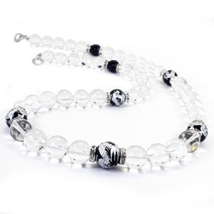 Ryujin Onyx Crystal Design Necklace Good Luck