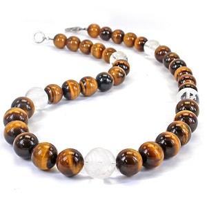 Ryujin Tiger's Eye Design Necklace Good Luck