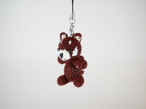 Hand Knitting Strap Panda Bear