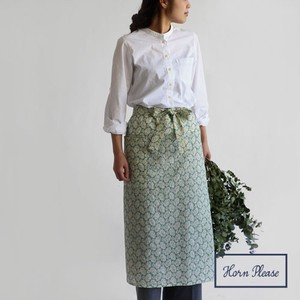 Skirt Apron Leaf Embroidery