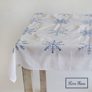 Tablecloth Snow Flake Embroidery