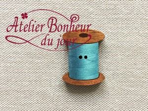 France Wooden Button Atelier