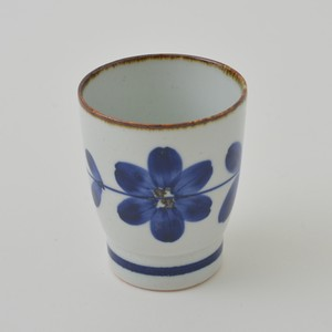 HASAMI Ware Hand-Painted Flower 9cm