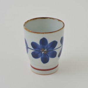 HASAMI Ware Hand-Painted Flower