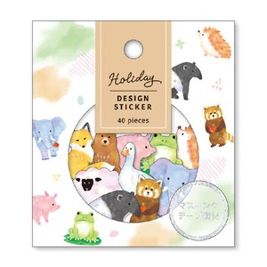 HOLIDAY Design Sticker Animal