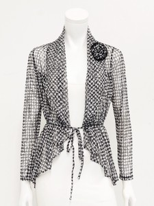 soft Power Net Jacket Corsage Attached