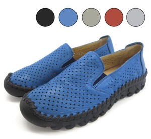 Hand Knitting Series Punching Slippon Shoes