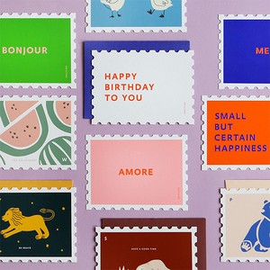 Stamp Message Card
