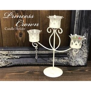 Princes Crown Candle Holder Triple