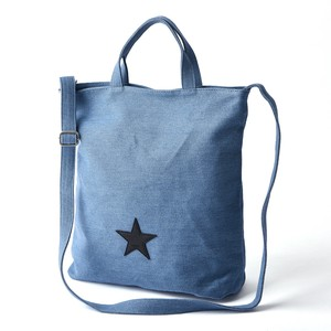 New Color Star Patch Canvas Tote Star