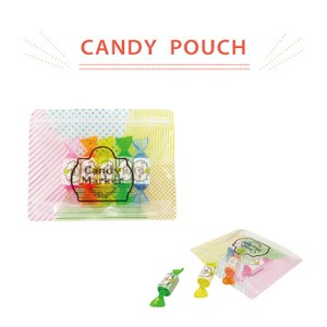 Candy type Highlighter Pouch Set Candy Pouch