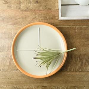 【特価品】ソイル 24cm丸ランチプレート オレンジ[B品][中国製/洋食器]