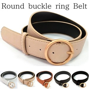 Buckle Ring Belt