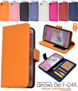 Smartphone Case 8 Colors Color Leather Notebook Type Case