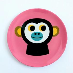 【OMM-design】メラミンプレートMonkey(サル)