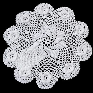 Hand Knitting Crochet Lace Doily