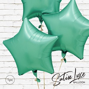 Snap Balloon Jade Star 1Pc