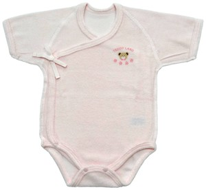 Pile Short Sleeve Comprehension Rompers Newborn Underwear