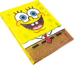 Sponge Bob Loose leaf Notebook Binder Graffiti Face