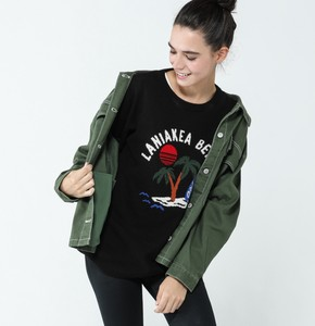 2018 A/W Ladies Twill Color Scheme Pocket Jacket