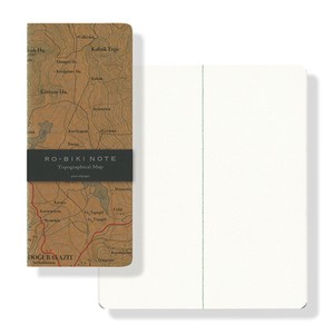 RO-BIKI NOTE MAP SERIES Topographical Map(ノート)