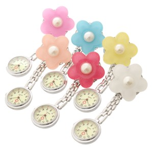 Flower Pearl Watch Pocket Watch