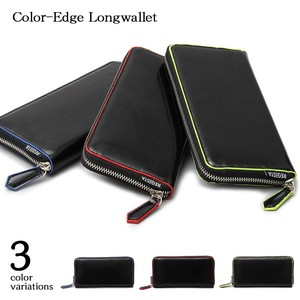 Edge Color Long Wallet Long Wallet