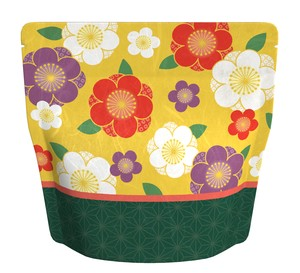 Unryu Aluminium Stand Pack Floral Pattern